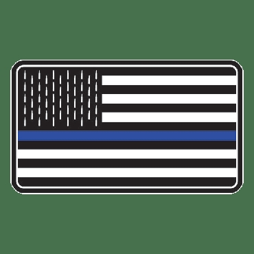 Thin Blue Line Freedom Flag
